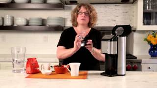 Single Cup Grind & Brew™ Coffeemaker  Demo Video Icon