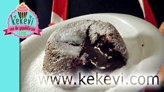 Çikolata Şelalesi - İçinden Sıcak Çikolata Akan Kek - Kekevi Tatlı Tarifleri