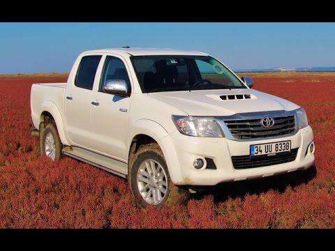 Toyota Hilux 4x4 2014 Testi