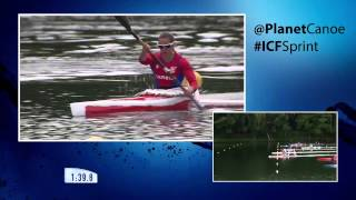 2015 Duisburg K1 1000m Women Canoe Sprint World Cup 2