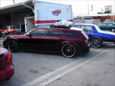 Dodge Magnum Fest on 24's,26's,28's,30's