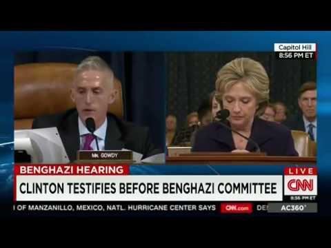 Trey Gowdy INTERROGATES an ANGRY LYING Hillary Clinton