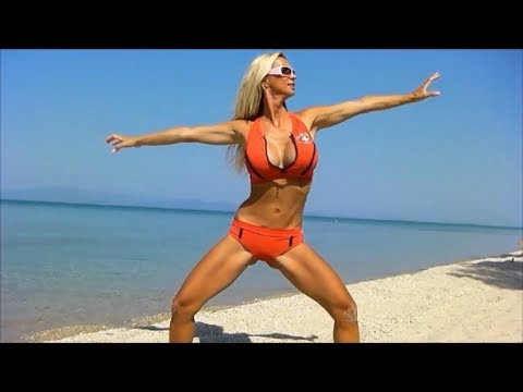 10 Minute Tight Bikini Workout   Warming up & Stretching Exercises Before Working Out