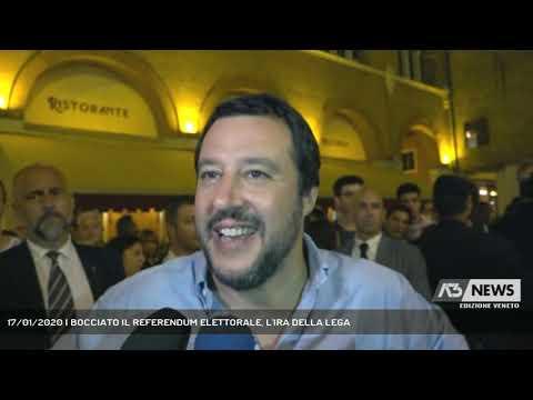 17/01/2020   BOCCIATO IL REFERENDUM ELETTORALE, L'IRA DELLA LEGA