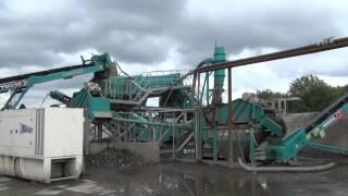 Video Wm Tracey inert recycling Powerscreen washplant from Blue Group.mp4 MP3, 3GP, MP4, WEBM, AVI, FLV Mei 2019