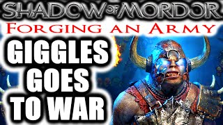 Nonton Middle Earth  Shadow Of Mordor  Forging An Army   Giggles Goes To War Film Subtitle Indonesia Streaming Movie Download