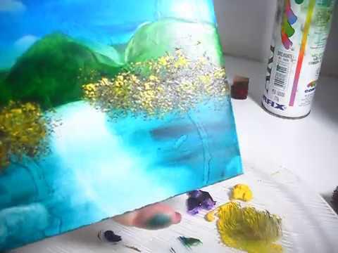 Pintar com palito