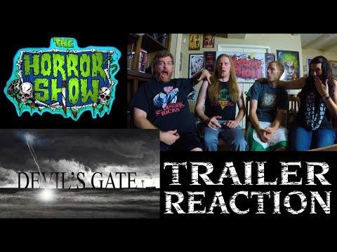 """""""Devil's Gate"""" 2017 Horror Movie Trailer Reaction - The Horror Show"""