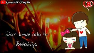 Tumse Milne Ko Dil Karta Hai 😘 | Latest Whatsapp Status Video | Romantic Song4u