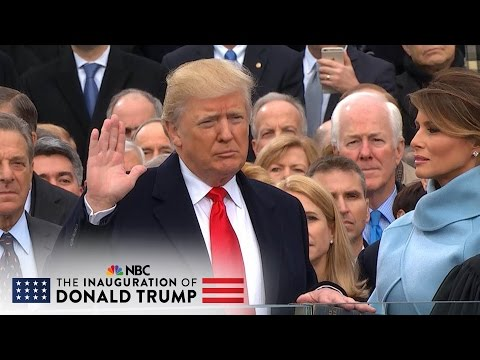 The 58th Presidential Inauguration of Donald J. Trump (Full Video)  | NBC News (видео)