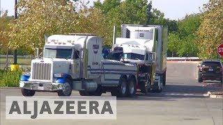 At least nine people died after being crammed into a sweltering lorry found parked outside a Walmart supermarket in the midsummer Texas heat, authorities said on Sunday in what they described as an immigrant-smuggling attempt gone wrong. The driver was arrested, and nearly 20 others rescued from the rig were hospitalised in dire condition, many with extreme dehydration and heatstroke, officials said. Al Jazeera's Heidi Zhou-Castro reports.- Subscribe to our channel: http://aje.io/AJSubscribe- Follow us on Twitter: https://twitter.com/AJEnglish- Find us on Facebook: https://www.facebook.com/aljazeera- Check our website: http://www.aljazeera.com/