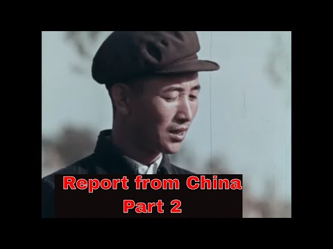 """"""" REPORT FROM CHINA""""  1967 DOCUMENTARY ABOUT COMMUNIST CHINA  PART 2  CULTURAL REVOLUTION 77574a"""