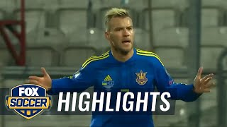 Ukraine vs. Kosovo | 2016 European Qualifiers by FOX Soccer