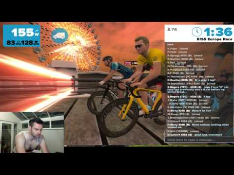 Live Stream - ZWIFT RACE! Thursday Night Kiss Europe Race
