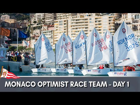 Monaco Optimist Team Race 2018 - Day 1