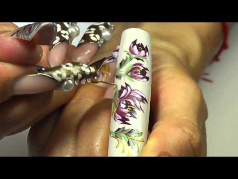 First Gel Nail Art Brush Z-4 Part 1
