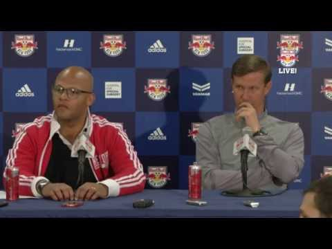ALI CURTIS and JESSE MARSCH: End-Of-Season Press Conference