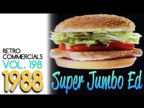 Retro Commercials Vol 198 Super Jumbo Edition! (1988-1080p)