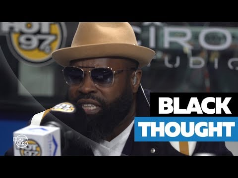 Black Thought from The Roots unleashing a blistering 10 minute freestyle
