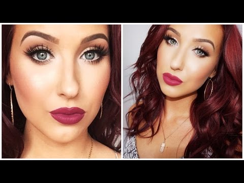 Bright Eyes + Bold Lips - Makeup Look For Small / Tired Eyes | Jaclyn Hill