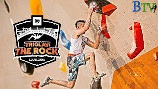 Triglav The Rock Ljubljana 2019 - Finals by Bouldering TV