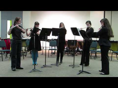 OCHS Band - Flute Quintet - Playing