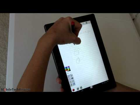 Lenovo ThinkPad Tablet Android 4.0 Upgrade and ICS Digital Pen Support Demo