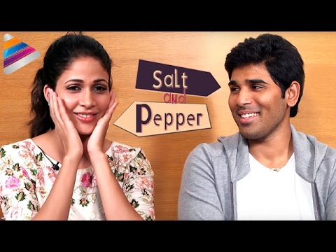 Lavanya Tripathi and Allu Sirish about Kissing | Salt & Pepper Interview