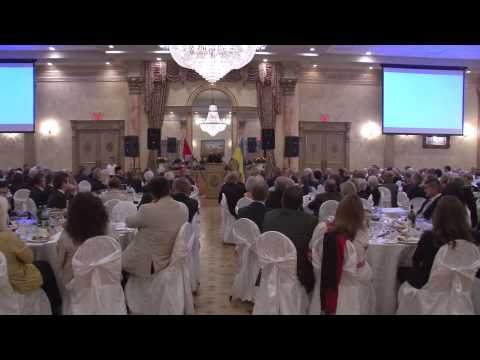 Highlights from Toronto Fundraising Banquet-2014