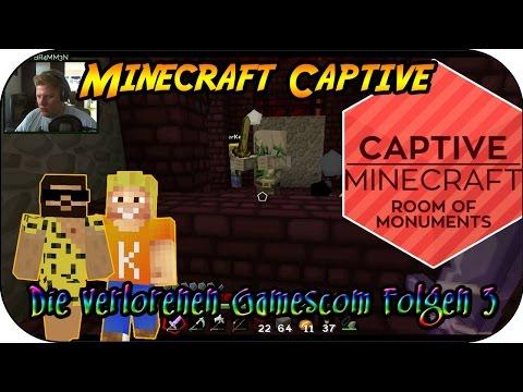 MINECRAFT CAPTIVE # 15 - Die verlorenen Gamescom Folgen 3 «» Let's Play Minecraft Captive