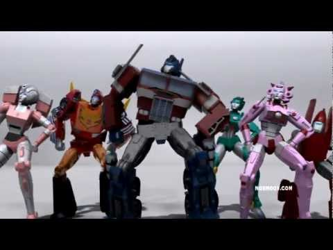 0 Transformers dance in Gangnam Style