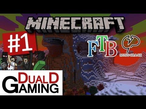 DualDGaming Spelar Minecraft - Feed The Beast - MindCrack Pack - #1