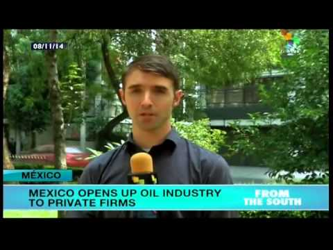 Mexican president signs bills opening up energy