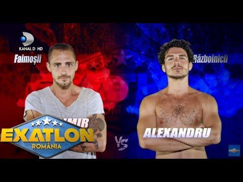 Exatlon Romania (15.01.2018) -  Vladimir & Anca VS Alina & Alex! Cine a castigat masa la restaurant?
