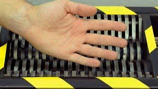 Video SHREDDING PLASTIC HAND AND TOYS | The Crusher MP3, 3GP, MP4, WEBM, AVI, FLV Januari 2019