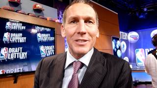 Toronto Raptors GM Bryan Colangelo Post-NBA Draft Lottery Reaction