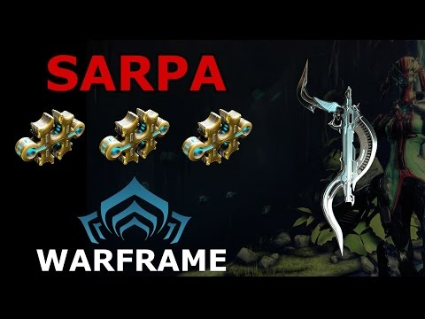 Warframe - Quick Look At Sarpa + Build (3 Forma)
