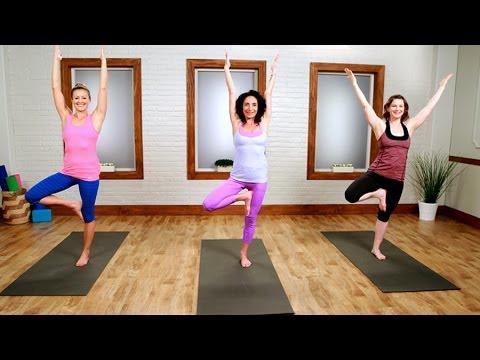 Yoga Workout For the Ultimate Bikini Body | Class FitSugar