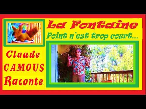 La Fontaine : Point n'est trop court… « Claude Camous Raconte »  Le renard, les raisins et sœur Jeanne.