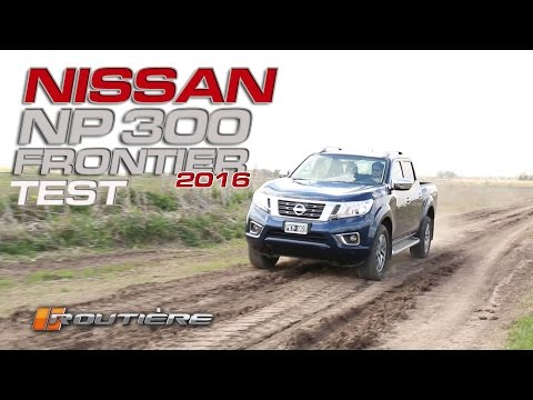 Nissan NP 300 Frontier LE 4X4 AT 2016 Test