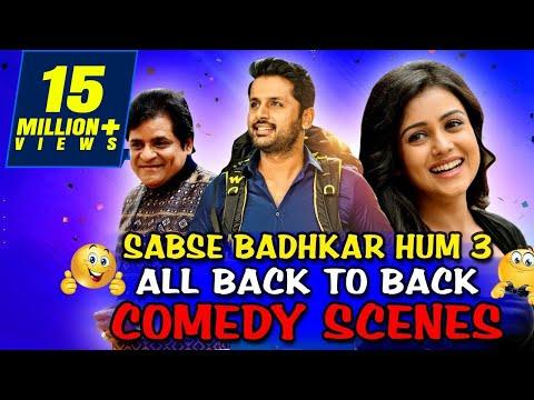 Sabse Badhkar Hum 3 All Back To Back Comedy Scenes   Lotpot Comedy Scene In HIndi Dubbed