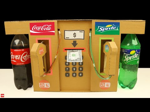 How to Make Coca Cola and Sprite Fountain Machine at Home