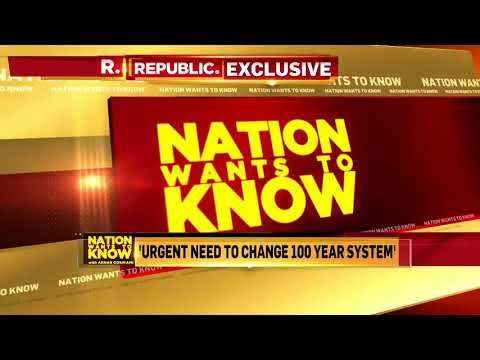 Piyush Goyal On Nation Wants To Know With Arnab Goswami Exclusive