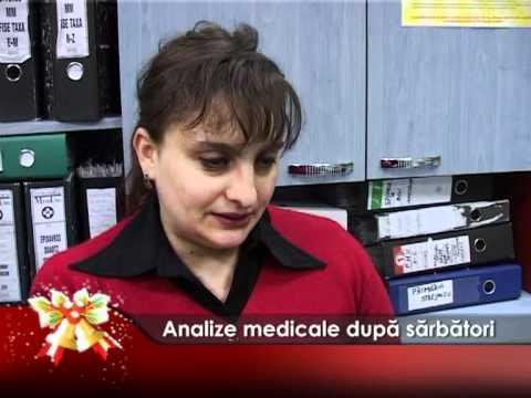 Analize medicale după sărbători