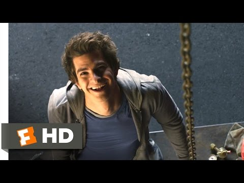 The Amazing Spider-Man - Love Struck Skateboarding Scene (2/10) | Movieclips (видео)