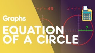 In this video we discover the equation of a circle, thanks to how it looks on a graph. The equation of a circle is (x - a)^2 + (y - b)^2 = r^2, where (a, b) is the centre of the circle and r is the radius. The coordinates of the centre point (a, b) are in the brackets with the x and y, but you just need to remember to change the sign of (a, b). We will look at how to find the equation of a tangent to a circle in another video.SUBSCRIBE to the FuseSchool YouTube channel for many more educational videos. Our teachers and animators come together to make fun & easy-to-understand videos in Chemistry, Biology, Physics, Maths & ICT.VISIT us at www.fuseschool.org, where all of our videos are carefully organised into topics and specific orders, and to see what else we have on offer. Comment, like and share with other learners. You can both ask and answer questions, and teachers will get back to you.These videos can be used in a flipped classroom model or as a revision aid. Find all of our Chemistry videos here:https://www.youtube.com/watch?v=cRnpKjHpFyg&list=PLW0gavSzhMlReKGMVfUt6YuNQsO0bqSMV Find all of our Biology videos here: https://www.youtube.com/watch?v=tjkHzEVcyrE&list=PLW0gavSzhMlQYSpKryVcEr3ERup5SxHl0 Find all of our Maths videos here:https://www.youtube.com/watch?v=hJq_cdz_L00&list=PLW0gavSzhMlTyWKCgW1616v3fIywogoZQ Twitter: https://twitter.com/fuseSchoolAccess a deeper Learning Experience in the FuseSchool platform and app: www.fuseschool.orgFollow us: http://www.youtube.com/fuseschoolFriend us: http://www.facebook.com/fuseschoolThis Open Educational Resource is free of charge, under a Creative Commons License: Attribution-NonCommercial CC BY-NC ( View License Deed: http://creativecommons.org/licenses/by-nc/4.0/ ).  You are allowed to download the video for nonprofit, educational use. If you would like to modify the video, please contact us: info@fuseschool.org