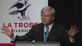 China's Rise and a New World Order at La Trobe university