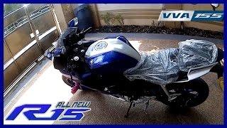 Video #1 My New Bike YAMAHA ALL NEW R15 V3 2017 (YZF-R15) MP3, 3GP, MP4, WEBM, AVI, FLV Oktober 2017