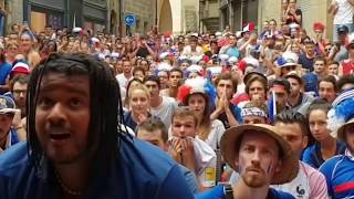 Video France Fans Crazy Reaction And Celebration  to World Cup Final Win MP3, 3GP, MP4, WEBM, AVI, FLV Maret 2019