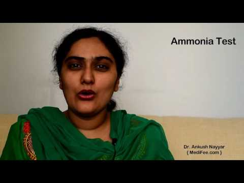 Ammonia Test - Diagnosing Liver Functionality